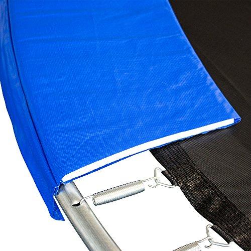 AWM Trampolin Randabdeckung PVC 350 mm Abdeckfläche UV Beständig Federkranz, 305 cm, T-RA-B305