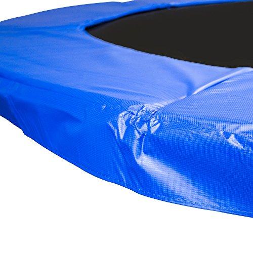 AWM Trampolin Randabdeckung PVC 350 mm Abdeckfläche UV Beständig Federkranz, 305 cm, T-RA-B305 -
