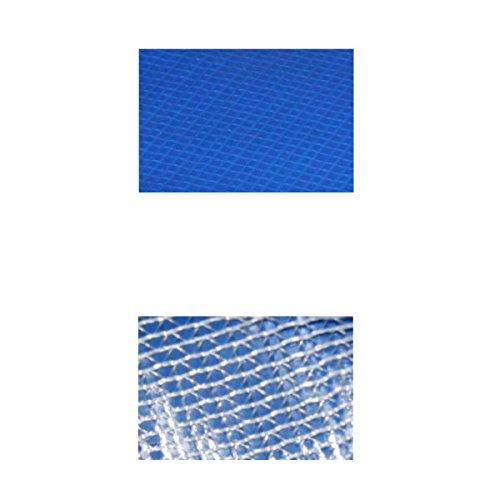 Randabdeckung Federabdeckung Randschutz Abdeckung blau für Trampolin Ø 427 cm - Ø 430 cm -