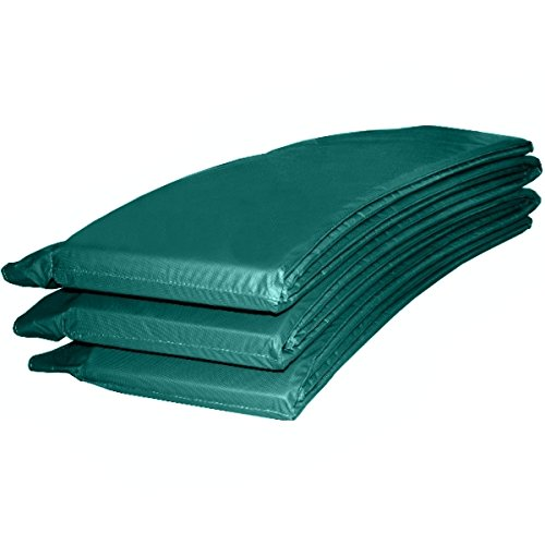 Randabdeckung Federabdeckung Randschutz Abdeckung grün für Trampolin Ø 396 cm - Ø 400 cm
