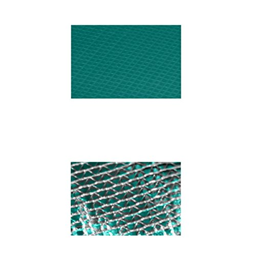 Randabdeckung Federabdeckung Randschutz Abdeckung grün für Trampolin Ø 396 cm - Ø 400 cm -