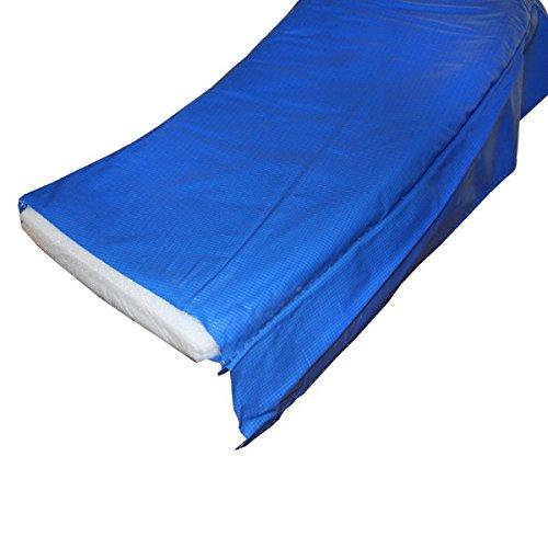 Randabdeckung Federabdeckung Randschutz Abdeckung blau für Trampolin Ø 396 cm - Ø 400 cm -