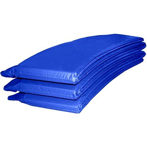Randabdeckung Federabdeckung Randschutz Abdeckung blau für Trampolin Ø 366 cm - Ø 370 cm