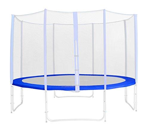 Randabdeckung Blau für Gartentrampolin 1,85 M - 4,60 M - Ersatzteil Federabdeckung PVC - RA-543 - Größe 2,45 m 3L