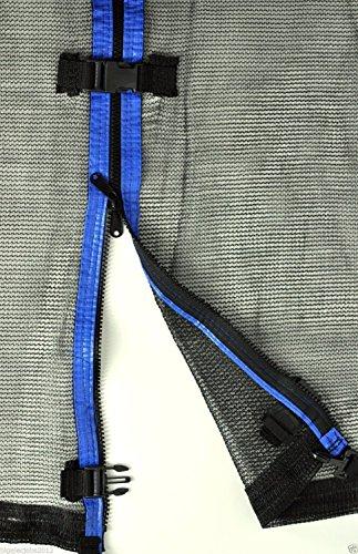 Ersatznetz Sicherheitsnetz Trampolinnetz für Trampolin 244cm -6Stangen 366cm -8Stangen 396cm -8Stangen 430cm -8Stangen Netzhöhe - 180cm -