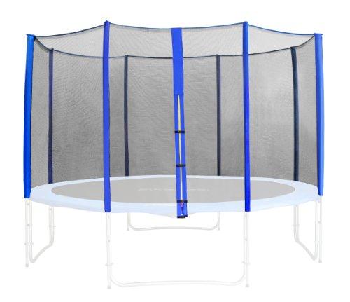 SixBros. Sicherheitsnetz Blau für Gartentrampolin 1,85 M - 4,60 M - versch. Größen - SN-ON/466 - Größe 2,45 m 3L