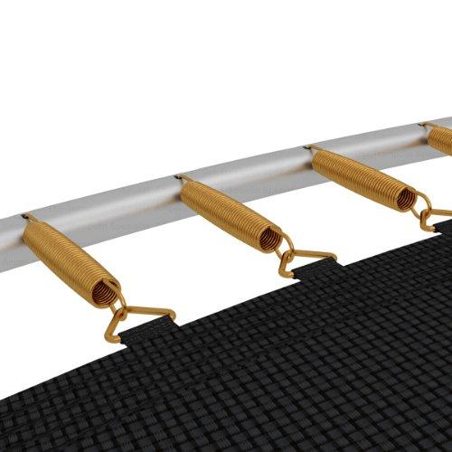 12 x Sprungfeder / Spiralfeder für Trampoline * 165 x 21 mm * für 366 bis 396 cm Trampoline -