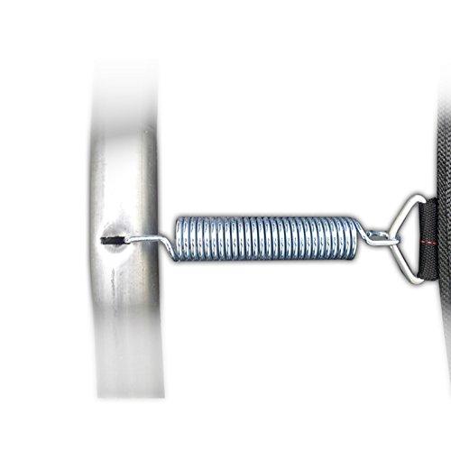 Trampolin awm® Federn 20x Ersatzfedern 16,5cm (165mm) Sprungfedern Ersatzteil für Sprungmatte -