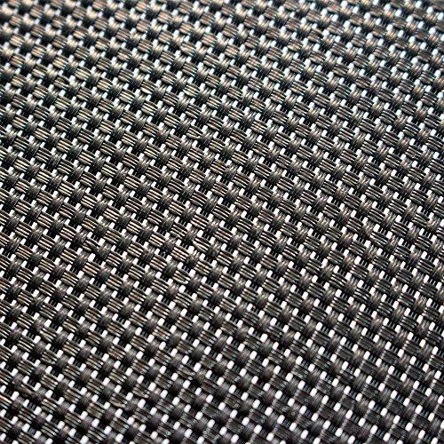 AWM Trampolin Sprungtuch PP-Mesh Sprungmatte 300-460 cm Trampolinsprungtuch (400 cm (84 V-rings-165mm spring)) -