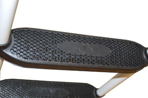 Gigajump Trampolinleiter mit extra breiten Stufen 97 cm -