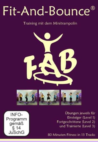 Trainings DVD / Fit and Bounce