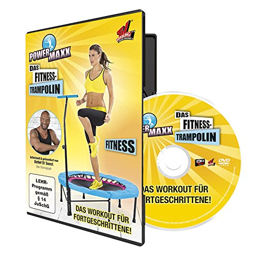 TV Unser Original POWER MAXX Trainings-DVDs für Fitness-Trampolin - 3er-DVD-Set -
