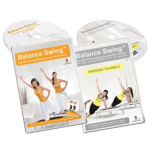 Balance Swing Fitness DVD Bundle: Training auf dem Mini-Trampolin