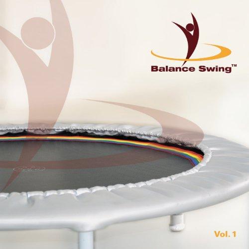 Balance Swing - Kombi Angebot: Fitness DVD + dazugehörige Musik CD für das Workout auf dem Mini-Trampolin -