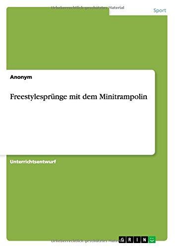 Trainingsbuch / Freestylesprünge