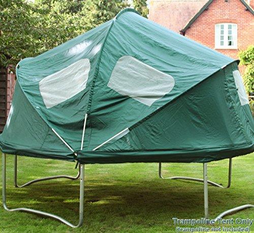 Trampolinzelt 4,3m. Fantasievolles Spielen, für Picknicks oder auch zum Bauen einer Höhle! -