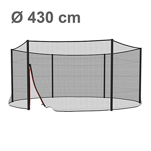 Ampel 24 / Trampolin Sicherheitsnetz / Ø 430cm
