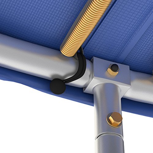 Ampel 24 Universal Gummispanner | 12x Spanngummi kurz | Gummischnüre schwarz ummantelt | Planenspanner mit Kugel -