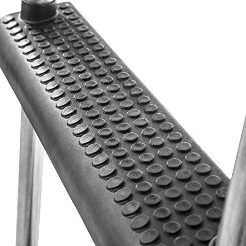 Ultrasport Trampolinleiter, Silver/Schwarz, 75 cm, 330700000150 -