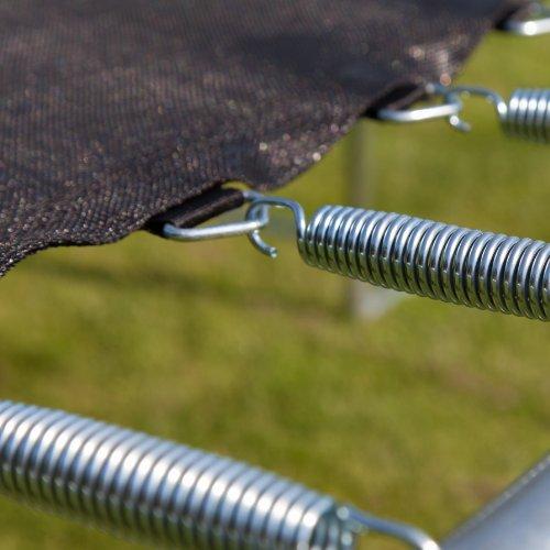 Ultrasport Trampolinsprungtuch für Gartentrampolin Ultrasport Jumper Wave in Schwarz, 251 cm -