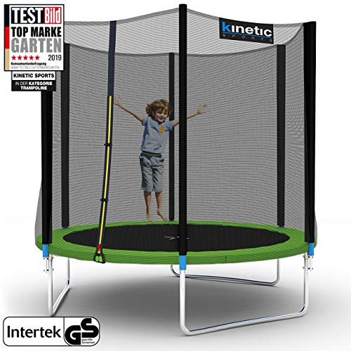 Kinetic Sports Ø 250 cm Gartentrampolin / grün