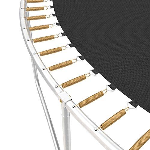 Ampel 24 Trampolin Ersatz Sprungmatte Ø 434 cm mit 120 Befestigungsösen 10-Fach vernäht, Sprungtuch für Gartentrampolin Ø 490 cm - 6
