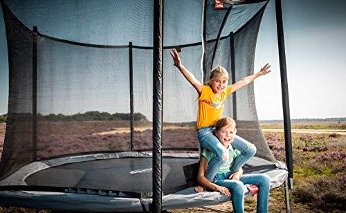 Berg Trampolin Favorit 270 inklusiv Sicherheitsnetz Comfort | Gartentrampolin, Trampolin Outdoor mit Sicherheitsnetz, Trampolin Kinder, Kinder Trampolin für den Garten - 2