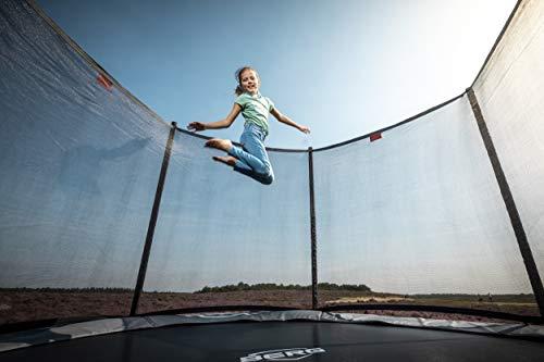 Berg Trampolin Favorit 270 inklusiv Sicherheitsnetz Comfort | Gartentrampolin, Trampolin Outdoor mit Sicherheitsnetz, Trampolin Kinder, Kinder Trampolin für den Garten - 3