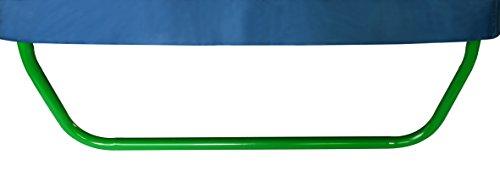 SixBros. SixJump Gartentrampolin für Kinder, Outdoor-Trampolin für den Garten, Kindertrampolin inkl. Sicherheitsnetz & Stangenschutz, robust & wasserdicht, grün TG210/2026 - 4