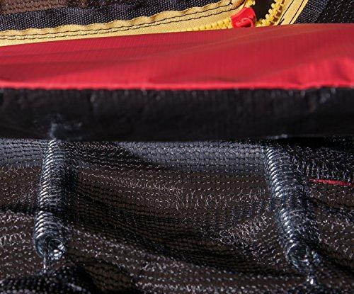 HUDORA 65745/00 Fantastic Trampolin 250 | Geräumiges & sicheres Gartentrampolin mit breiter, Dicker Randabdeckung - 3