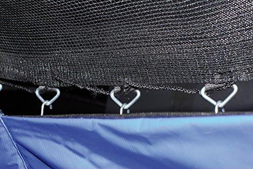 HUDORA Trampolin Fitness, blau - Garten-Trampolin mit Sicherheitsnetz - 300 cm - 5
