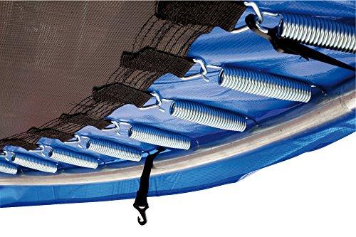 HUDORA Trampolin Fitness, blau - Garten-Trampolin mit Sicherheitsnetz - 300 cm - 6