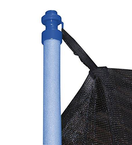 HUDORA Trampolin Fitness, blau - Garten-Trampolin mit Sicherheitsnetz - 300 cm - 8