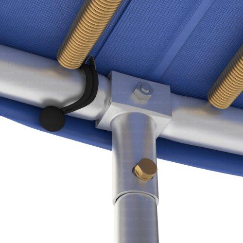 Ampel 24 Trampolin Randabdeckung, passend für Trampolin Ø 305 cm, Federabdeckung reißfest und beständig, Schutzrand blau - 8