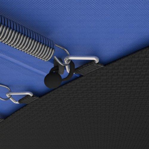 Ampel 24 Trampolin Randabdeckung, passend für Trampolin Ø 305 cm, Federabdeckung reißfest und beständig, Schutzrand blau - 9