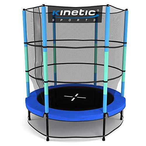 Kinetic Sports Ø 140 cm Gartentrampolin / blau