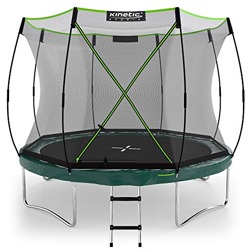 Kinetic Sports Ø 305 cm Gartentrampolin TBSE1000 / grün