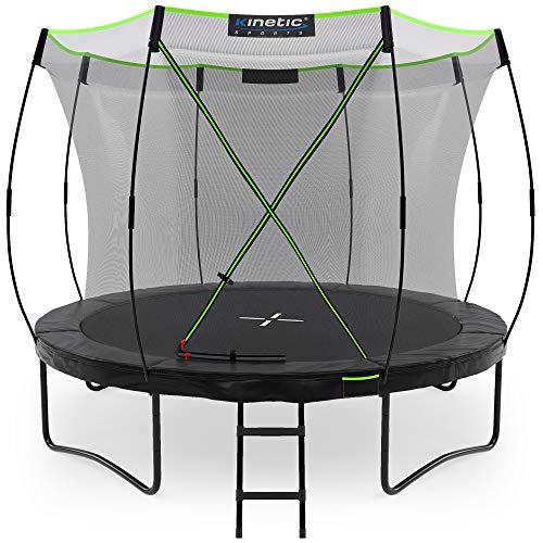 Kinetic Sports Ø 305 cm Gartentrampolin TUP1000 / schwarz