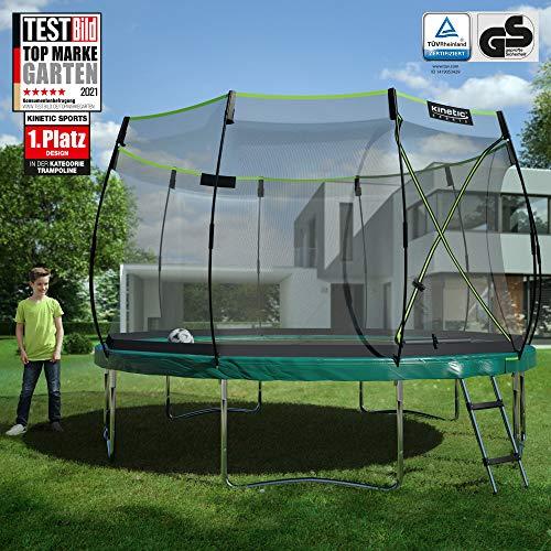Kinetic Sports Gartentrampolin TBSE1200, 366 cm, grün - 2
