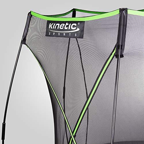 Kinetic Sports Gartentrampolin TBSE800, 244 cm, grün - 4