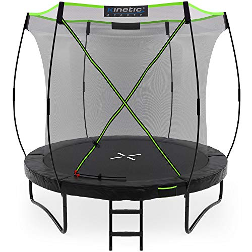 Kinetic Sports Ø 244 cm Gartentrampolin TUP800 / schwarz