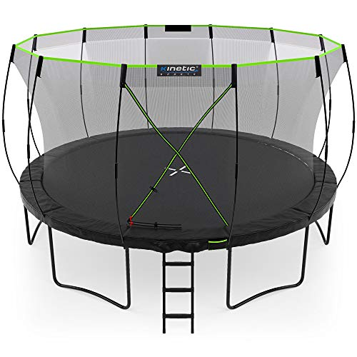 Kinetic Sports Ø 427 cm Gartentrampolin TUP1400 / schwarz
