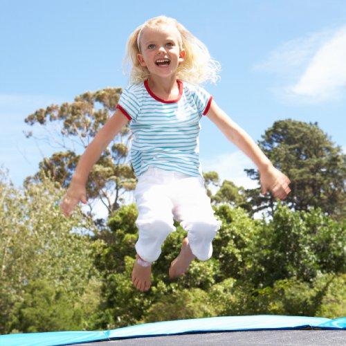Ultrasport Gartentrampolin Jumper 180 cm inkl. Sicherheitsnetz -
