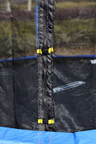 FA Sports Gartentrampolin mit Sicherheitsnetz Flyjump Monster, blau, 305 cm, 1220 -