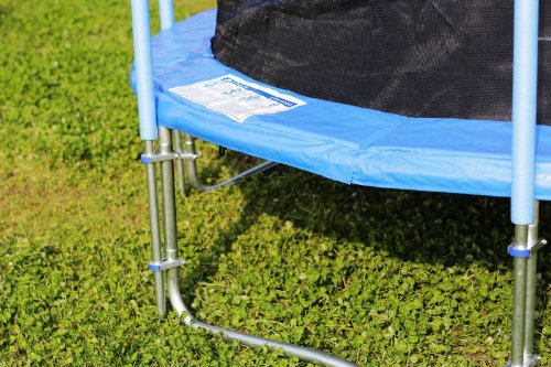 FA Sports Gartentrampolin mit Sicherheitsnetz Flyjump Monster, blau, 305 cm, 1220 -