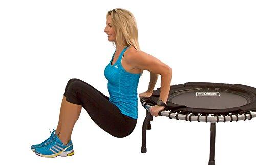 JumpSport Swing Fitnesstrampolin- Einzelgummiseil Aufhängung (Modell 370) -