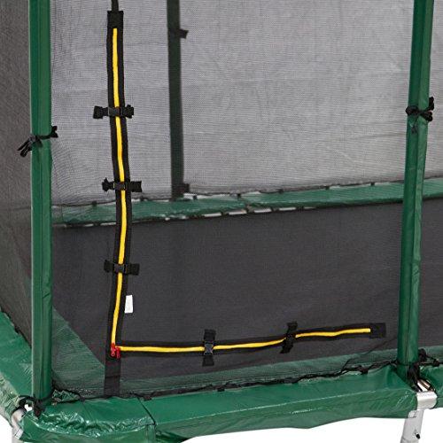 Ultrasport Premium Jumper Gartentrampolin 305 x 457 cm inkl. Sicherheitsnetz -