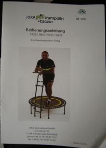 joka fit fitnesstrampolin test anleitung