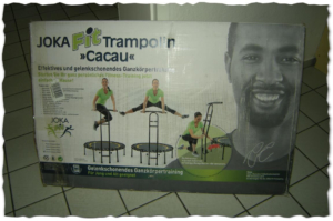 joka fit fitnesstrampolin test karton