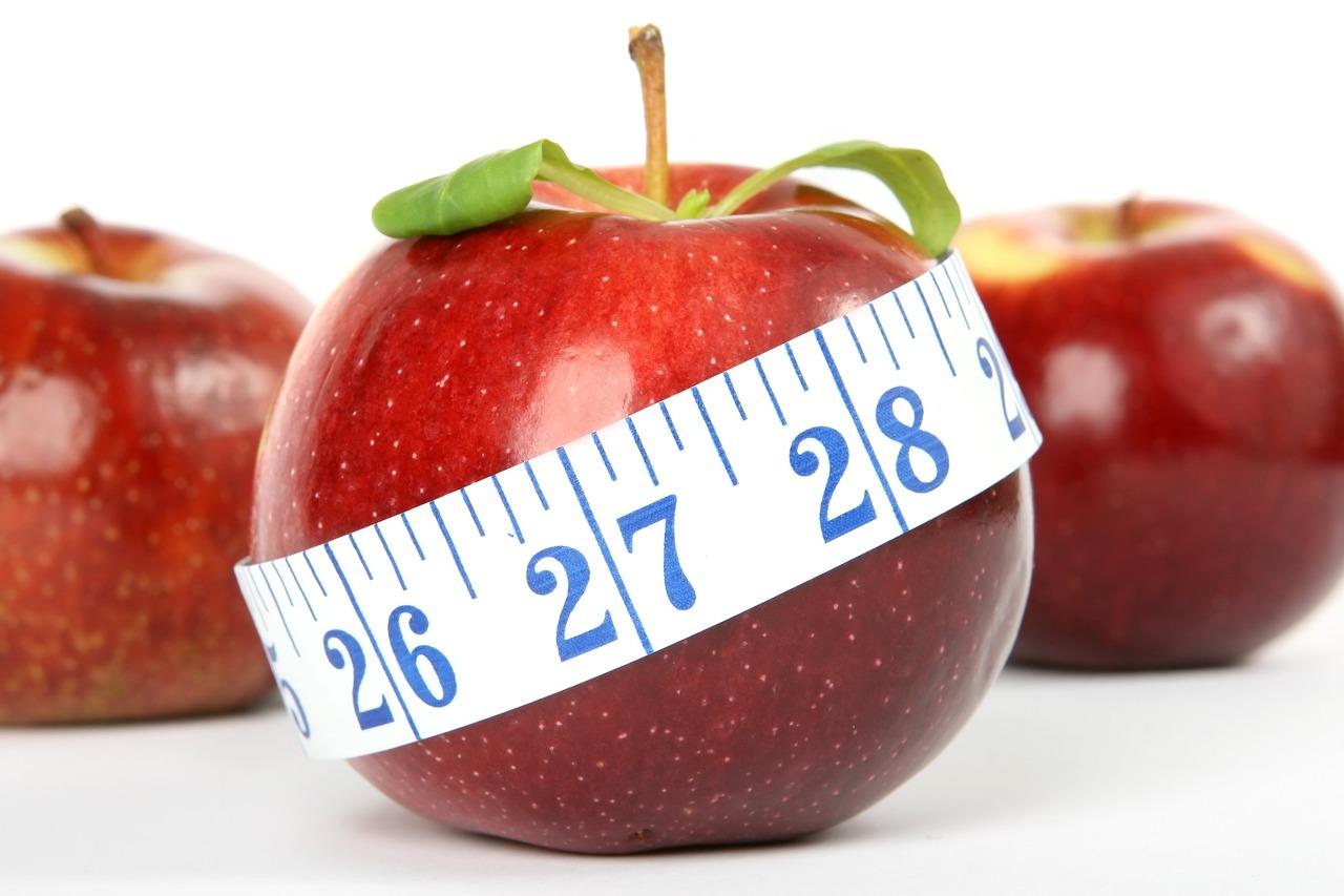 trampolin kalorienverbrauch - apfel